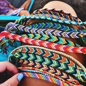 Handmade friendship bracelets for sale!